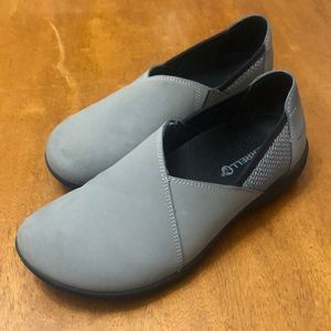 Charcoal Grey Merrell Loafer Clogs Like New
